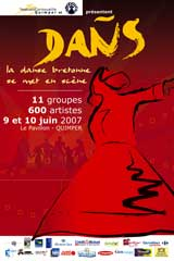 DAÑS, la danse bretonne se met en scène