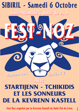 Fest Noz à Sibiril Kevrenn Kastell