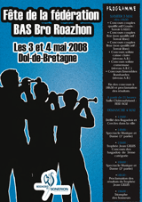 Fête de la Fédération BAS Bro Roazhon