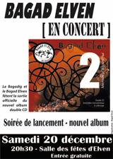 Bagad Elven en Concert