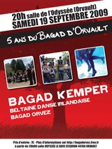 5 ans Bagad Orvault