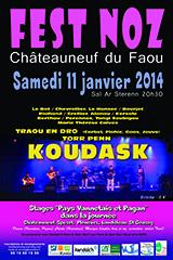 affiche Fest Noz 11 janvier 2014 internet