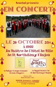 Concert du 26 octobre 2014