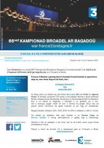 CP Championnat des bagadoù 2015-B